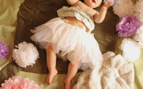 1歳のお誕生日パーティにも!女の子のお誕生日は手作りのチュールドレスで花の妖精に変身!