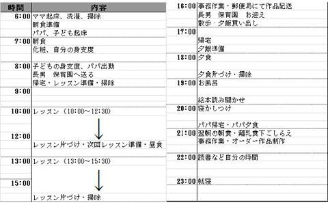 教えて! 働くママのタイムスケジュール vol.3 Misakoさん