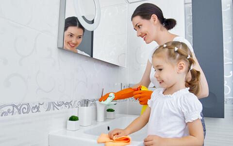 親子で大掃除をしよう!! 昔ながらの知恵を活用して、今こそ始める『掃除育』