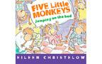 子どもの英語教育に! 英語で絵本読み聞かせ 絵本紹介17『Five Little Monkey Jumping on the bed』