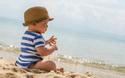 紫外線対策は万全に! 赤ちゃんの帽子の選び方