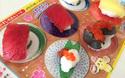 お菓子のリアリティをとことん極めた知育菓子「おすしやさん」