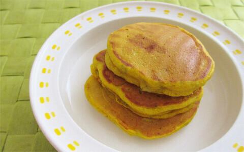 栄養満点! 安心おやつ 砂糖・ベーキングパウダー不使用のふんわりパンケーキ(食で心を育む Vol.2)