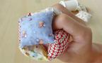 型紙不要! 新生児から小学生まで遊べる布製穴あきボール