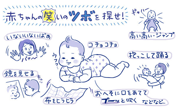 「赤ちゃんってどんなことで笑うの?」 栗生ゑゐこの赤ちゃんカルタVol.1