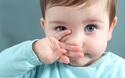 子供の鼻水の色、透明と青っ鼻はどう違う?