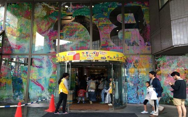 渋谷のビルがペンキだらけ! 「ワークショップコレクション11 inシブヤ」に行ってきた