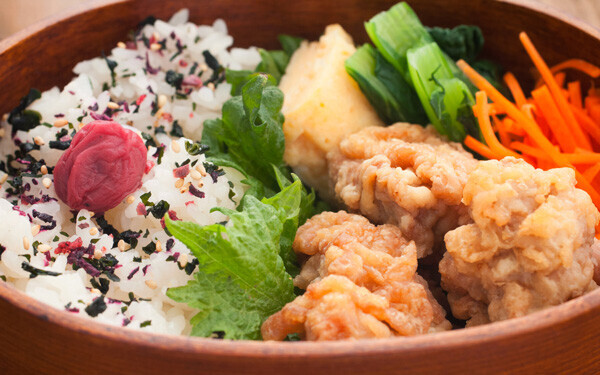低アミロース米は冷めてもおいしく、お弁当にぴったり