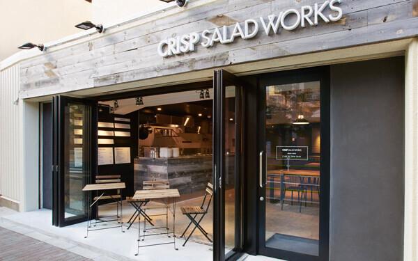 CRISP SALAD WORKS 麻布十番店 店舗外観