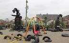 大田区の遊び場スポット「タイヤ公園」のおもしろさって?