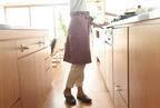 「裏フリースエプロン」で寒い冬のキッチンもあったか快適!