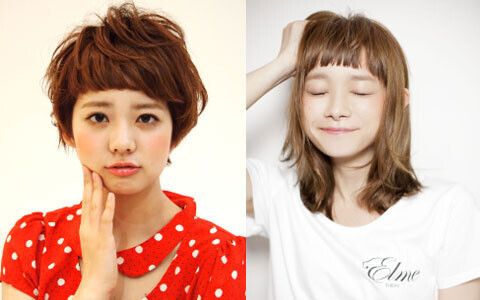 """今""""眉上バング""""がアツい!短めの前髪が可愛いトレンドヘアスタイル"""