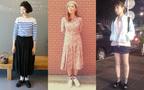 今年の夏は、どの丈でスカートを楽しむ?丈別!スカートコーディネート