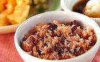 今日の献立は敬老の日にぴったり「炊飯器で赤飯」
