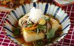 今日の献立は野菜沢山、いつもより豪華な「あんかけ揚げ出し豆腐」