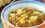 今日の献立はご飯が進む、中華の定番「麻婆豆腐」