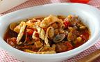 今日の献立は魚介の旨みをギュッと凝縮、贅沢な「たっぷり魚介のスープ」