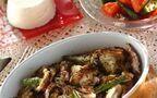 今日の献立は「イカと野菜のオーブン焼き」