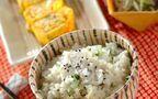 今日の献立は「里芋とホタテの炊き込みご飯」