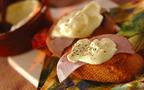 熱々のチーズをかけて召し上がれ!  カマンベールのラクレット風