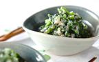 よくばりなミックスレシピ!? 「ホウレン草のゴマ豆腐和え」