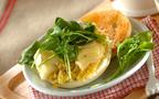 お芋とカマンベールチーズが絡み合う! 焼き芋のオープンサンド