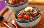 ピリ辛こくウマ&温玉のせ! サーモンの韓国風漬け丼