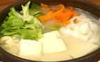 【動画】まるで料亭の味! 重曹でとろとろ湯豆腐