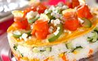 ひな祭りはこれでお祝い! 華やかな「ケーキちらし寿司」