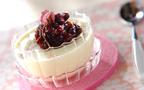 小豆の甘さと、桜の花の塩気が絶妙! 桜のパンナコッタ