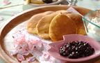 口に広がる桜の香りとふわふわ食感! 桜パンケーキ