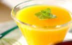 かんたん作り置きスイーツ オレンジジュースでゼリー