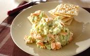 持ち寄りパーティーにぴったり! ソラ豆と鮭のマッシュサラダ