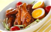 照りとうまみがギュッ! 行楽にぴったりな絶品鶏手羽「手羽と卵の黒酢煮」