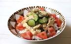 暑い日に食べたい爽やかな食感!「高野豆腐ときゅうりのごまぶっかけ飯」【今日の時短ごはん Vol.15】