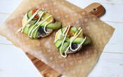 ご飯と彩り野菜が楽しく食べられる「ベジドーナツ寿司」【今日の時短ごはん Vol.26】