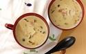ほっこり、じんわ~り、たっぷりキノコの豆乳スープ