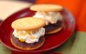 甘露煮を使って簡単おいしい! 栗のクリームサンド