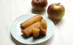 旬のりんごで簡単スイーツ! パリパリ食感の「春巻きアップルパイ」【今日の時短ごはん Vol.33】