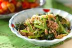 ご飯にのせて食べたい! ピリ辛「小松菜マーボー」