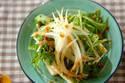 5分で完成! 自家製ゴマドレでいただく「豆腐と水菜のサラダ」