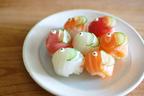 【子どもの日レシピ】市販のお寿司をアレンジ! コロンとかわいい「鯉のぼり寿司」