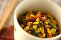栄養豊富でヘルシー! ごはんが進む「ツルムラサキ納豆」