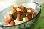 ビタミンたっぷり! 色合いが美しい「スライスセロリのサラダ」