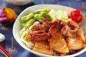 厚めのお肉でスタミナたっぷり! 「豚肉の甘辛丼」