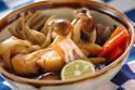 スダチの香りがアクセント! 野菜もとれる「タラとキノコのさっと煮」