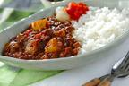 絶品! ひき肉と野菜の旨みたっぷりの「ミンチカレー」