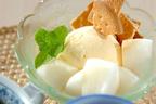 梨の新しい食べ方! 子どももよろこぶ「梨のパフェ」