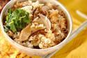 松茸の香りと旨みを堪能! 「松茸のみの松茸ご飯」