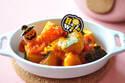 ハロウィンおかずにも! 素材の美味しさが引き立つ「かぼちゃのトマト煮」